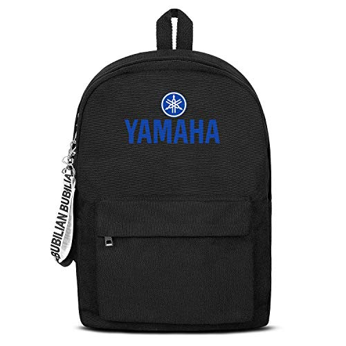 School College Black Bookbag with Pencil Case Motorcycle- Best Travel Laptop Canvas Backpacks