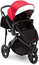 Jogging Stroller   All Terrain Baby Jogger   Sport Utility   JPMA Safety Certified   J is for Jeep Brand   Red on Black Frame