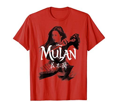 Disney Mulan Live Action Mulan Action Pose Logo T-Shirt