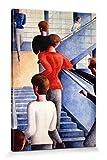1art1 Oskar Schlemmer - Bauhaustreppe, 1932 Poster