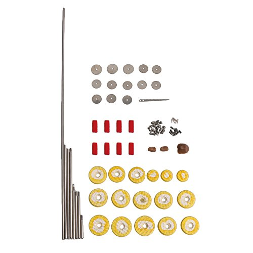 DIY Flötenreparaturteile Flötenreparatursatz Flötenreparaturzubehör 16 Stück perforiertes Flötenpad