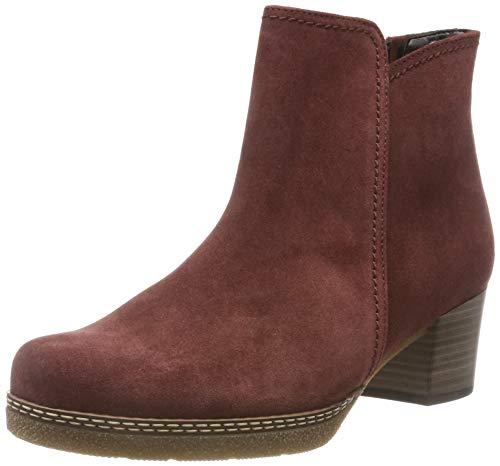 Gabor Shoes Damen Comfort Basic Stiefeletten, Rot (Dark-Red (Micro) 38), EU