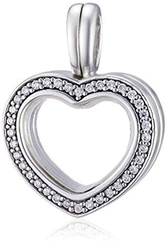 Pandora Colgante medallon Mujer plata - 797248CZ