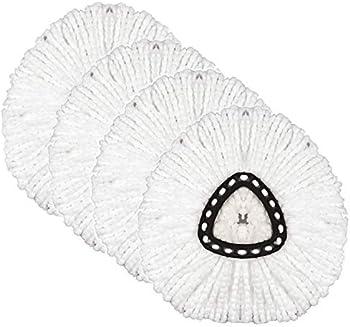 4-Pack NUOMAN Replacement Head Microfiber Mop Refills