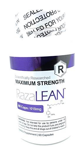 RazaLEAN Maximum Strength (Scientifically Researched) 60 Cap 610mg
