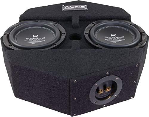 Audio System R08 Flat-2 Subframe - 20cm Reserverad Subwoofer - geschlossenes Gehäuse - 300 Watt RMS - 2 Ohm