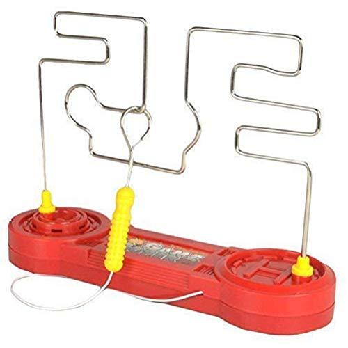 Heißer Draht Spielzeug Kinder Kollision Elektroschock Spielzeug Elektro Touch Labyrinth Spiel Erweitert E Touch Puzzle Fokus Trainings Werkzeug