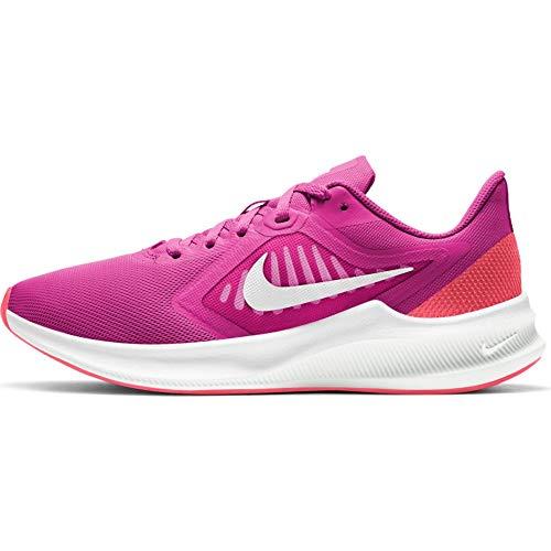Nike WMNS Downshifter 10 - fire pink/Summit White-Ember Glow-w, Größe:6