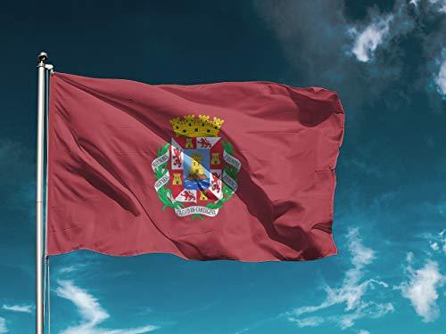 G I Bandera Cartagena | Medidas 150cm x 85cm | Fácil colocación | Decoración Exteriores (1 Unidad)