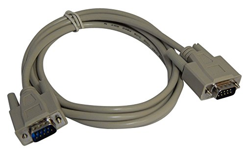 Your Cable Store 6 Foot DB9 9 Pin Serial Port Cable Male/Male RS232