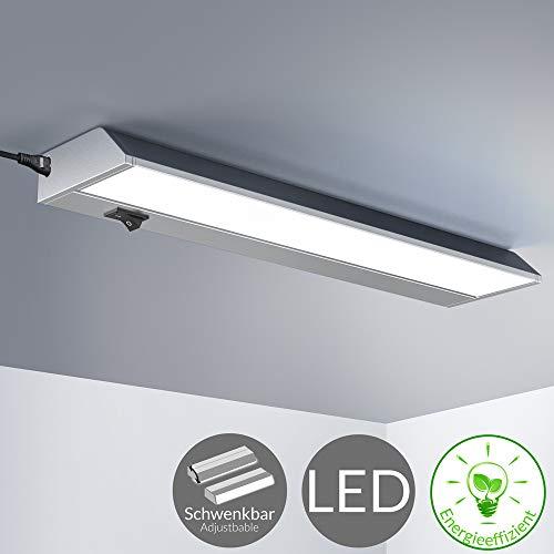 monzana Unterbauleuchte M 35cm schwenkbar 5 Watt 370 Lumen LED Schrankleuchte Lichtleiste Deckenleuchte Einbauleuchte