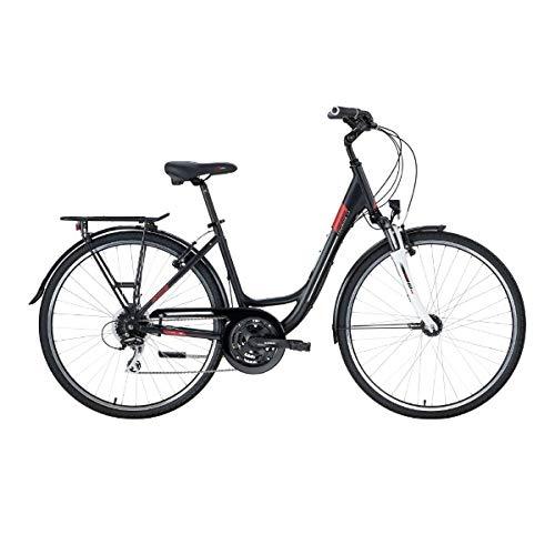 Genesis Damen City/Trekkingbike Touring 3.9, schwarz matt,43