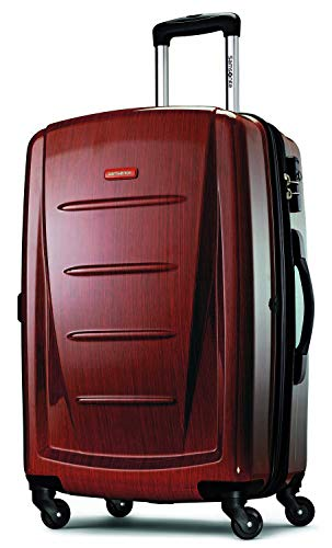Samsonite Winfield 2 Hardside Expandable Luggage with Spinner Wheels, Burgundy