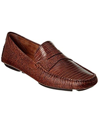 Donald J Pliner Men's Vinco4 Brown Loafer 9.5 M