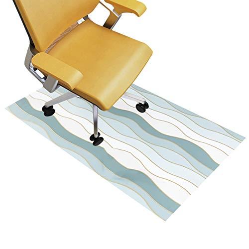 QYQS Stuhl Unterlage, Dicke 1mm, PVC-Fit Ohne Verzug, Vielfalt Der Spezifikationen Sind Verfügbar, Büromatte für Den Vorsitzenden(Size:80x130cm/31x51in)