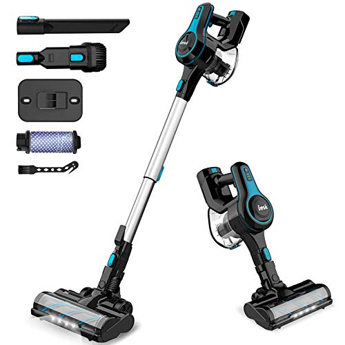 INSE Cordless Vacuum Cleaner, 6 in 1...