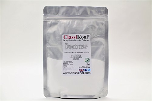 Classikool 100g Pure Dextrose Powder: Food Grade Glucose for Baking, Cooking & Energy [Free UK Post]