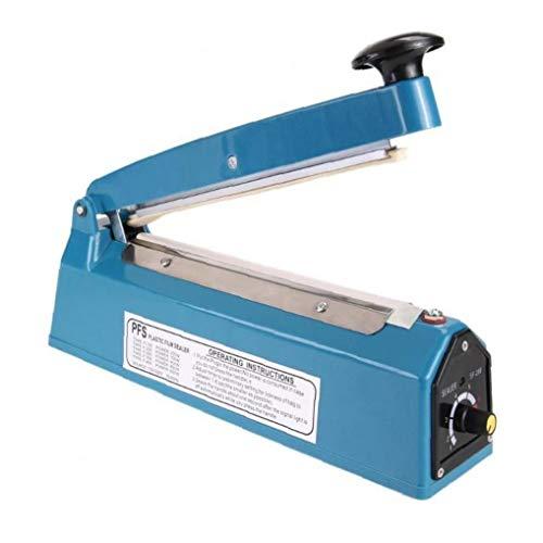 Case&Cover 220v 300w Sellador del Impulso Manual de Sellado de Calor Sellador del Impulso de la máquina Poli Tubo de la Bolsa de plástico de Embalaje Herramientas de empaquetado Máquina