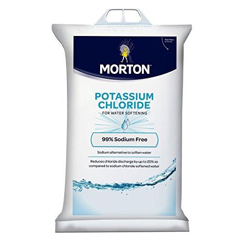 Morton Potassium Chloride Pellets - 40 lb. bag