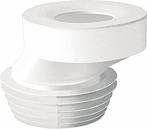 WC-Anschluss exentrisch 40mm Durchmesser 100-110 Farbe: weiss