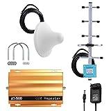 Amplificador de señal para telefono movil, amplificador señal telefonia amplificadores repetidor de señal de telefono movil AT980 2G GSM900MHz