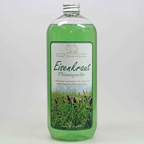 Florex Schafmilchseife Eisenkraut 1 L Flüssigseife Seife Nachfüllflasche Schafmilch Naturseife