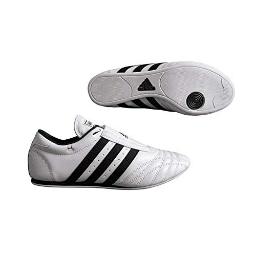 Adidas SM-II Low Cut Sneaker Sneaker (White with Black Stripes) - Size 8 1/2