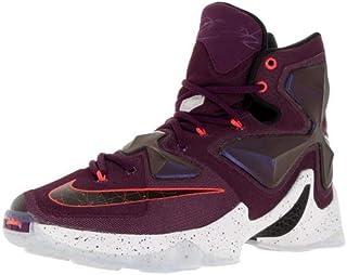 7561a5600cdc9 Nike Men s Lebron XIII Mulberry Blk Pr Pltnm Vvd Prpl Basketball Shoe -
