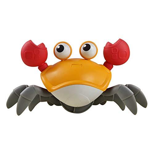Forart Krabben Bad Spielzeug Schwimmen Krabben Baby Bad Spielzeug Uhrwerk Aufzieh Kleinkind Dusche Badewanne Spielzeug Wasserspielzeug für Kleinkinder, Babys