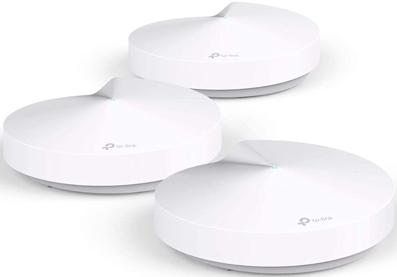 TP-Link Deco Whole Home Mesh WiFi System – Homecare Support, Seamless Roaming, Dynamic Backhaul, Adaptive Routing, Works with Amazon Alexa, Up to 5,500 sq. ft. Coverage (M5)