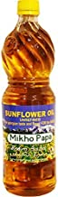 Miho Papa Sunflower Oil (Unrefined) Premium Quality, 33.8 Fl Oz / 1 Litre. Imported from Georgia