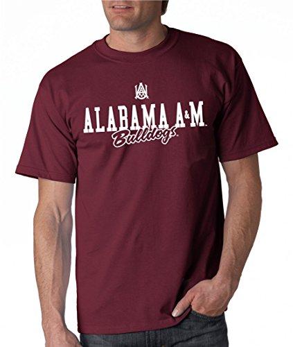 J2 Sport NCAA Unisex Tee Alabama Team Gear AAMU Apparel Game Day T-Shirt