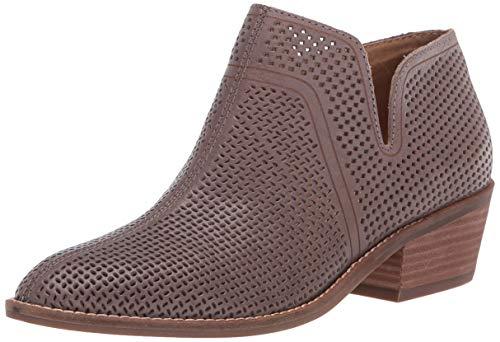 Lucky Brand Women's FEYAN Ankle Boot, Titanium, 8 M US