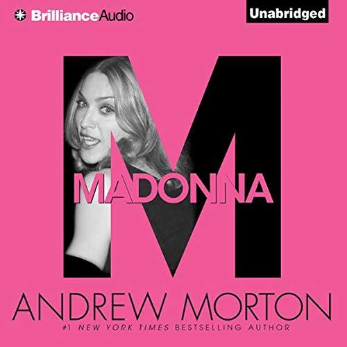 Madonna audiobook cover art