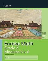 Eureka Math Grade 3 Learn Workbook #3 (Modules 5-6)