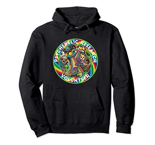 Psychedelic Research Volunteer Mushroom Trip LSD Pullover Hoodie