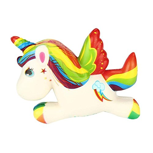 Rony Rass Stile tre Pegasus unicorno lento rimbalzo alto 8 cm larghezza 12 cm 1pcs