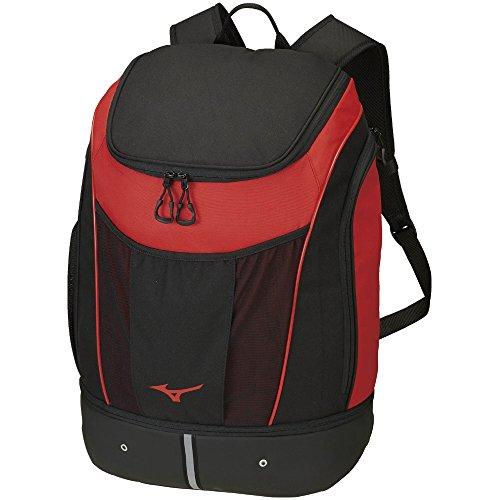MIZUNO(ミズノ) プールバッグ プールバッグ バックパック 容量:35L N3JD800096 サイズ: ブラック×レッド N3JD8000 96:ブラック×レッド