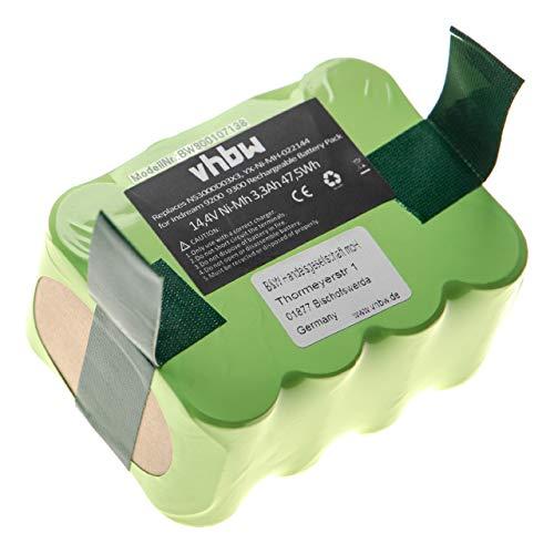 vhbw batterie Ni-MH 3300mAh (14.4V) pour appareil électronique compatible avec E.Ziclean Furtiv remplace NS3000D03X3, YX-Ni-MH-022144.