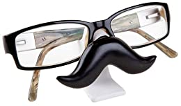 mustache eyeglasses holder