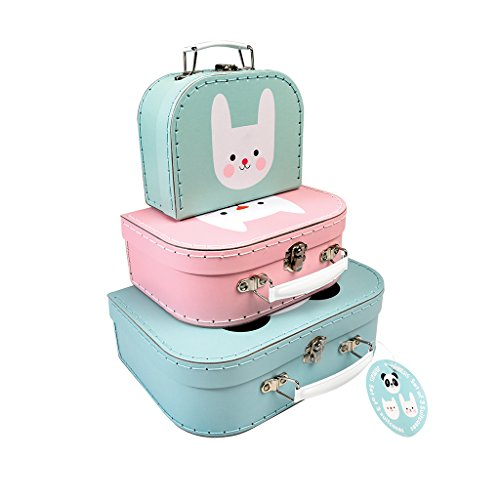 Rex London Miko The Panda, Cookie The Cat and Bonnie The Bunny Cases (juego de 3)