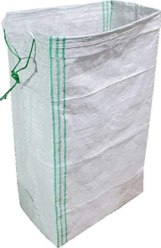 角型土嚢袋UV白PE20枚 水害対策品 浸水防止 止水擁壁・止水シート設置 台風 梅雨前線