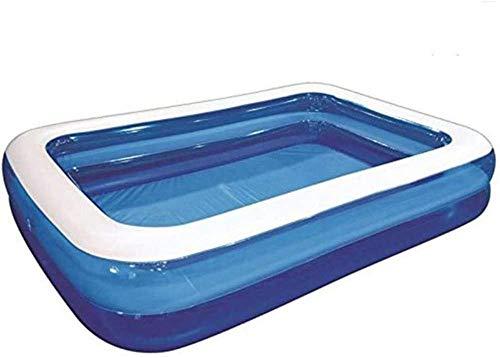 GFSDGF Inflatable Swimming Pool Childrens Inflatable Swimming Pool Baby Adult Home Paddling Pool Splash Pad for Wading