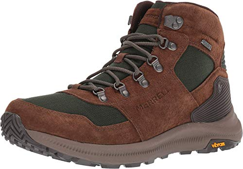 Merrell Ontario 85 Mid Waterproof Hiking Shoe - Men's Forest 11
