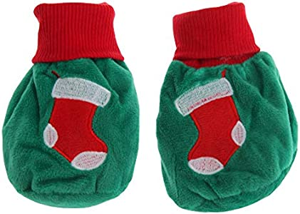 Nursery Time - Patucos calcetines diseño Baby Christmas (Hasta 6 Meses) (Verde)