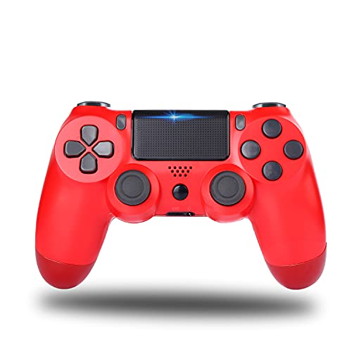 Railay Wireless Gamepad for Ps-4 Pro Slim Control Joystick for PStation 4 (Red)