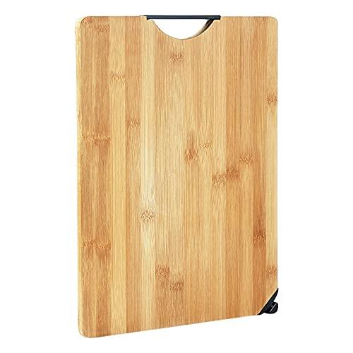 Bamboo Cutting Board with Juice Groove , Dual Side Cutting Board Brown