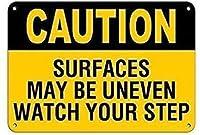 注意表面は不均一かもしれませんあなたのブリキのサインを見てくださいヴィンテージ面白い生き物鉄の絵金属板人格ノベルティ