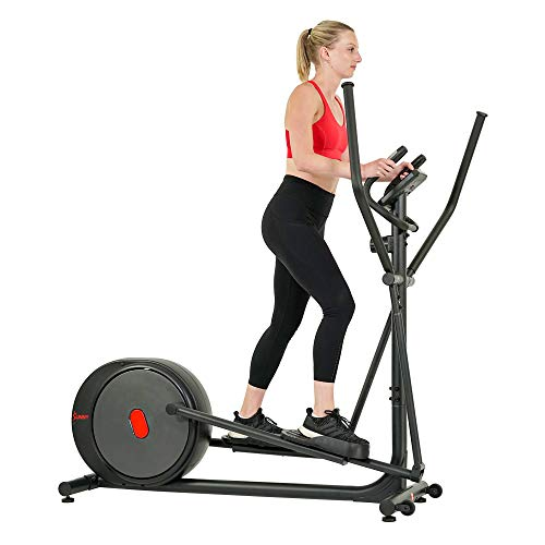 New Sunny Health & Fitness Carbon Pro Magnetic Elliptical - SF-E3981