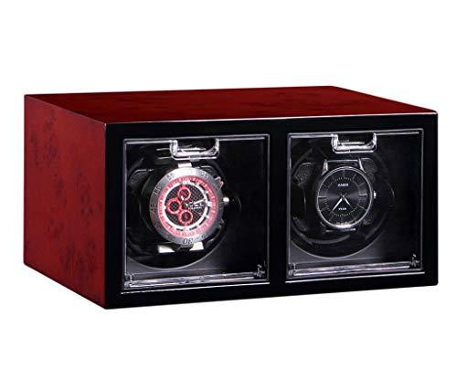 enrollador de reloj Cajas de enrollador de reloj Relojes mecánicos Caja de mesa de almacenamiento Caja de motor Caja de reloj Devanadera automática de reloj Casete enrollador de reloj (Color: A)